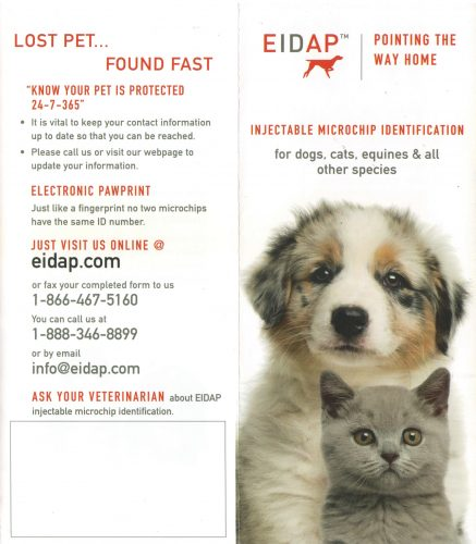 EIDAP Microchipping